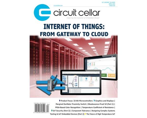 Free Circuit Cellar magazine April 2018