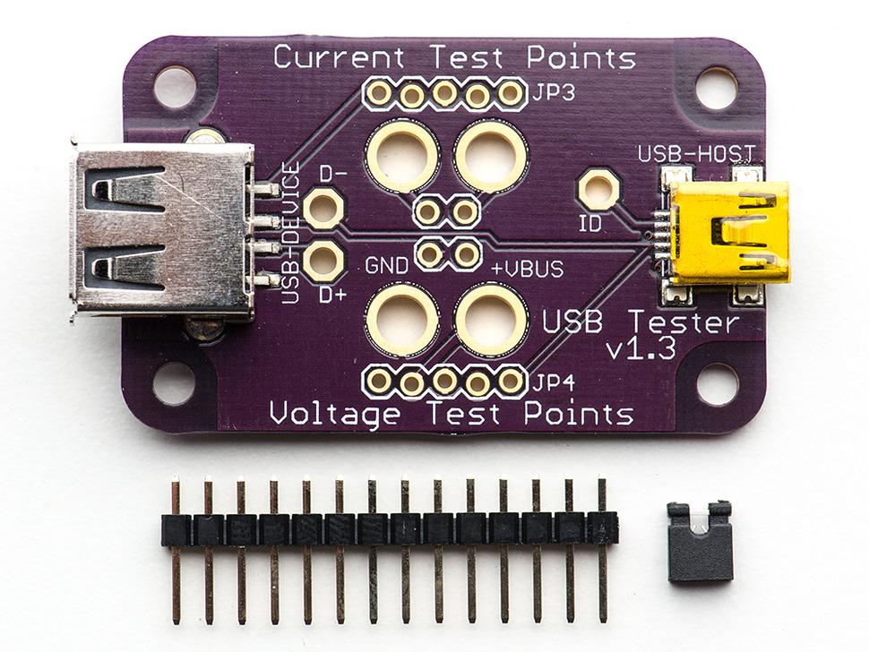 FriedCircuits USB Tester v1.3
