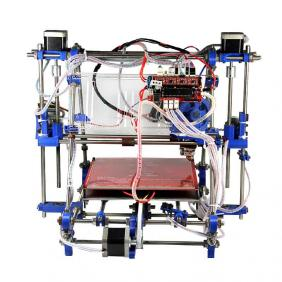 Fully assembled Prusa Mendel I2(iteration 2)