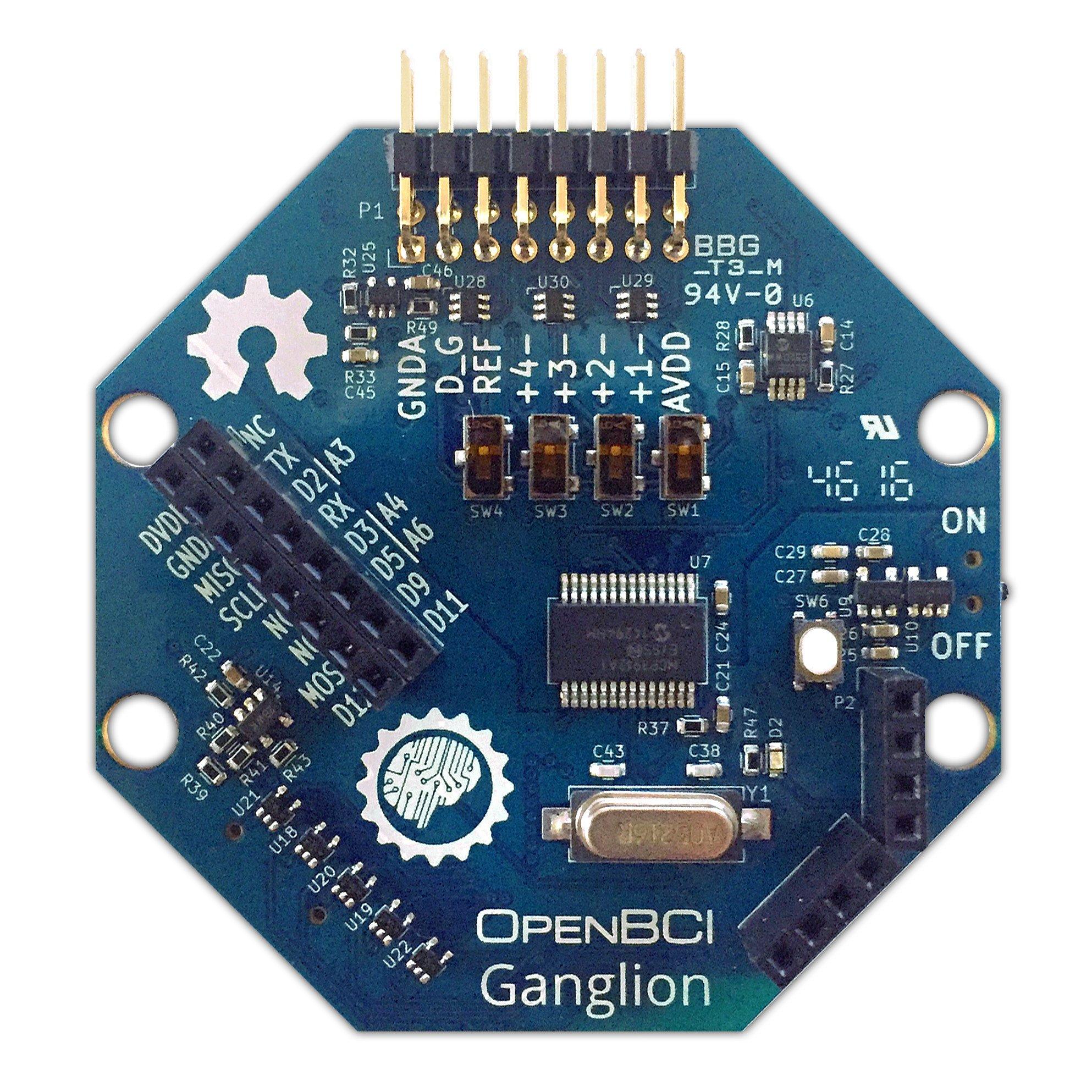 Ganglion Board (4-channels)
