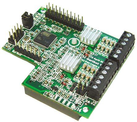 Gertbot Robotics Board for Raspberry Pi