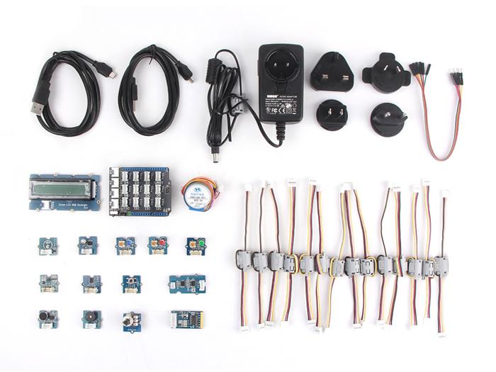 Grove Starter Kit Plus - IoT Edison