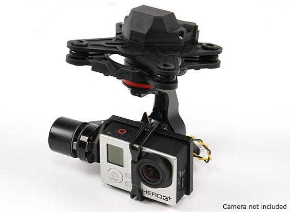 HMG YI3D Gimbal x GoPro Hero3 Action Camera