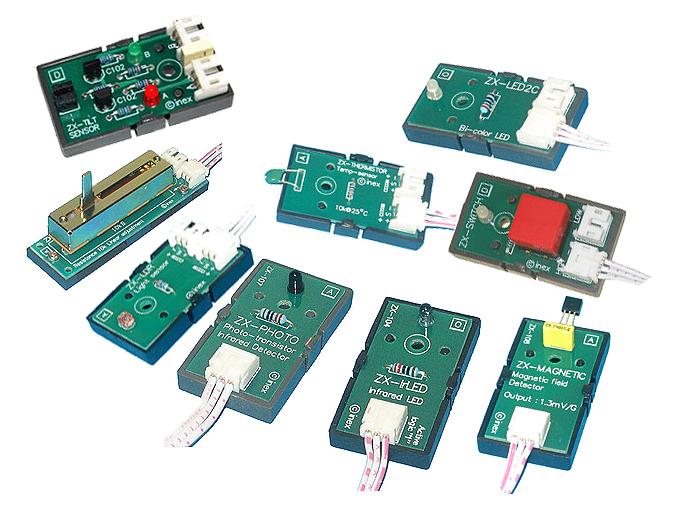 Inex - Sensor Pack - 9 Sensors