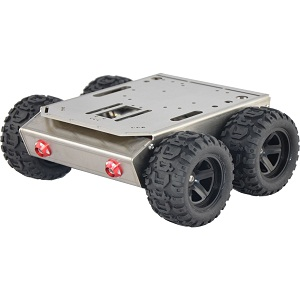 Iron Man-2 outdoor 4WD chassis applicable for Arduino