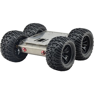 Iron Man-3 4WD all terrain chassis applicable for Arduino
