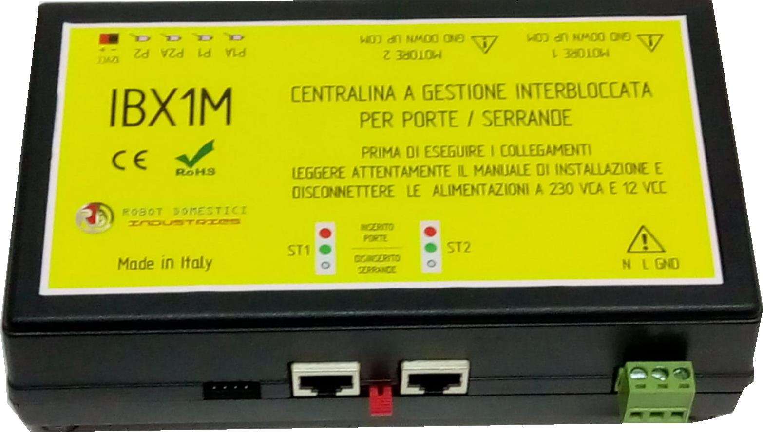 KIT Centralina a Gestione Interbloccata per Porte e Serrande