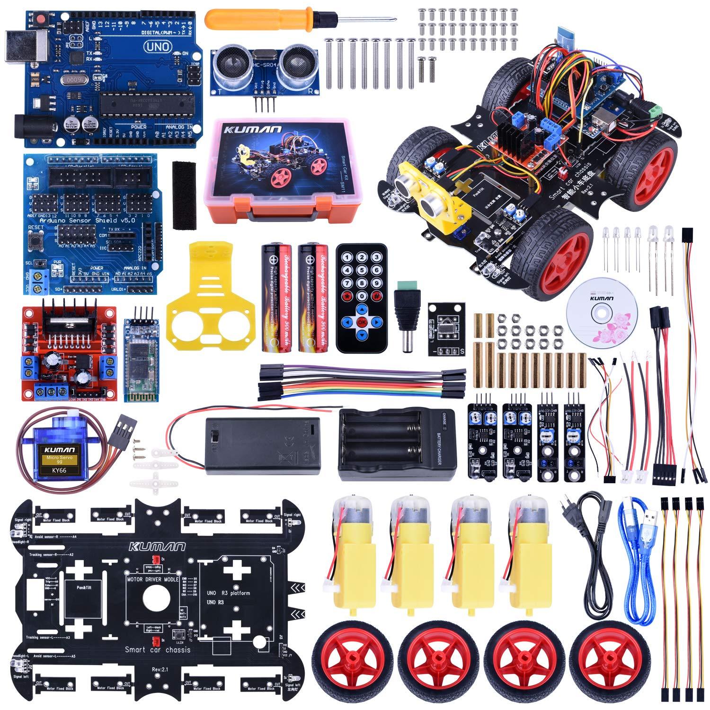 Kuman Arduino Robot Smart Car Kit con Uno R3