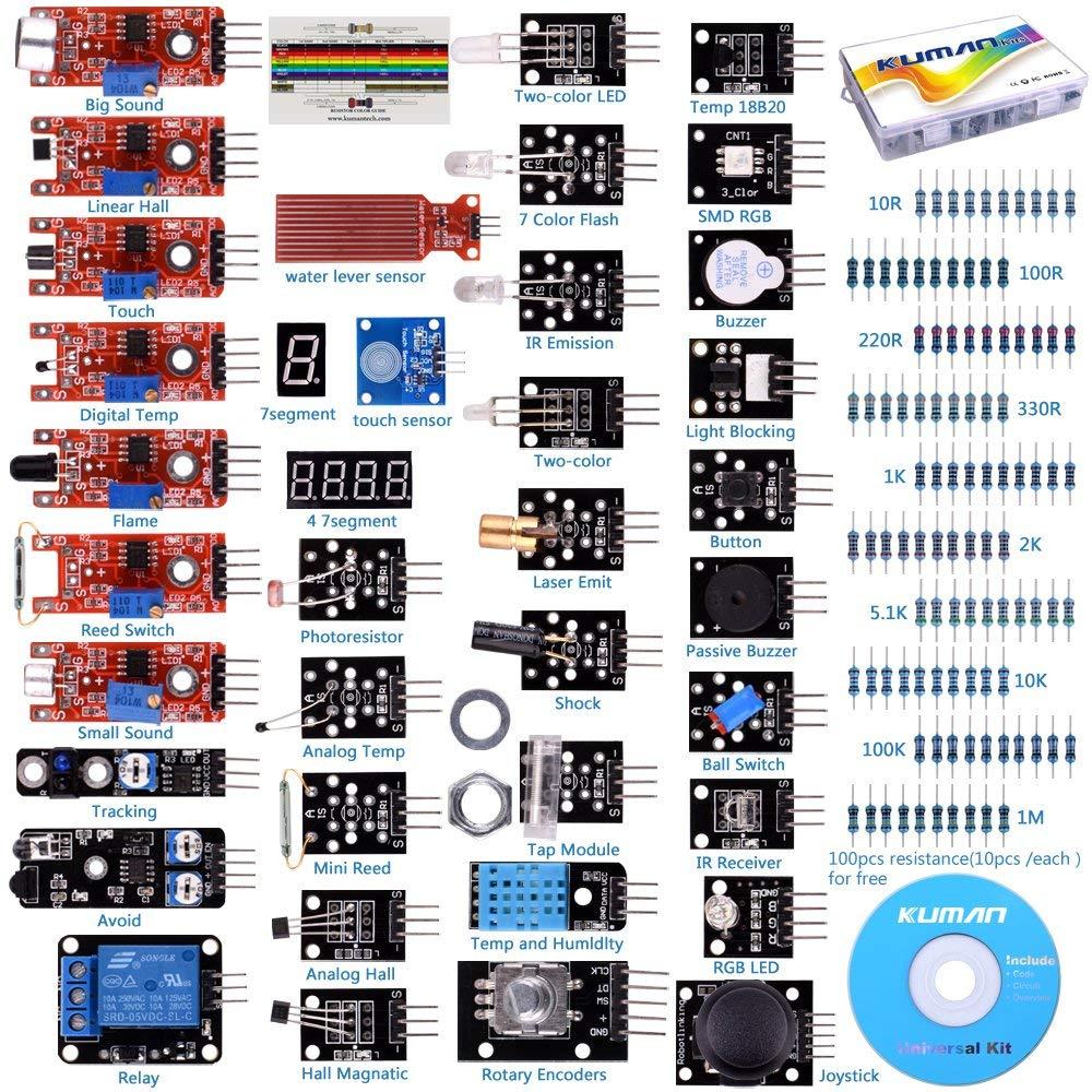 Kuman K5 Kit Sensori 37 in 1