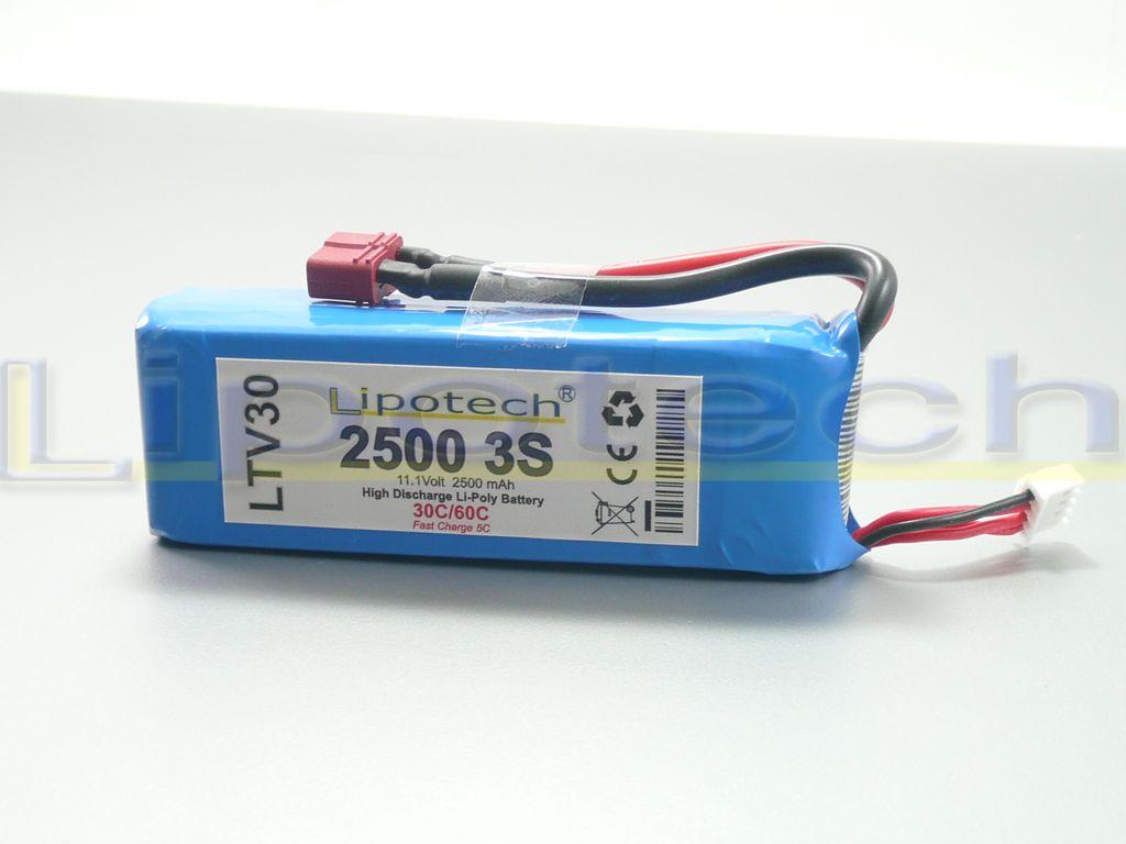 LTV30 2500mAh 11,1 Volt