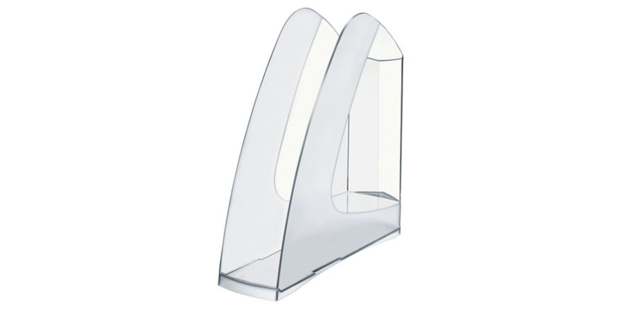 LYRECO MAGAZINE RACK A4 CRYSTAL