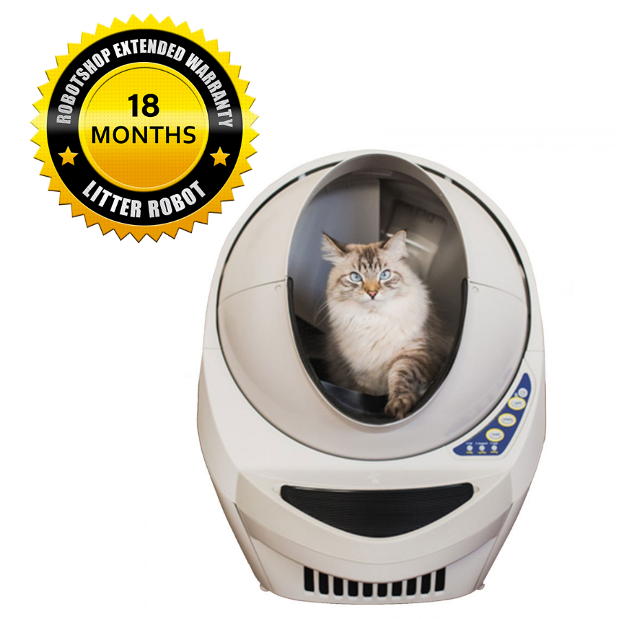 Litter-Robot III Open Air Beige w/ 18 Month extended warranty