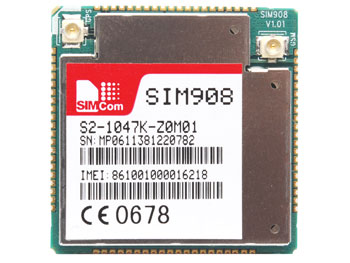 MODULO GSM/GPRS CON GPS INTEGRATO