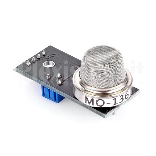MQ-136 Gas Sensor - Rilevazione di Idrogeno