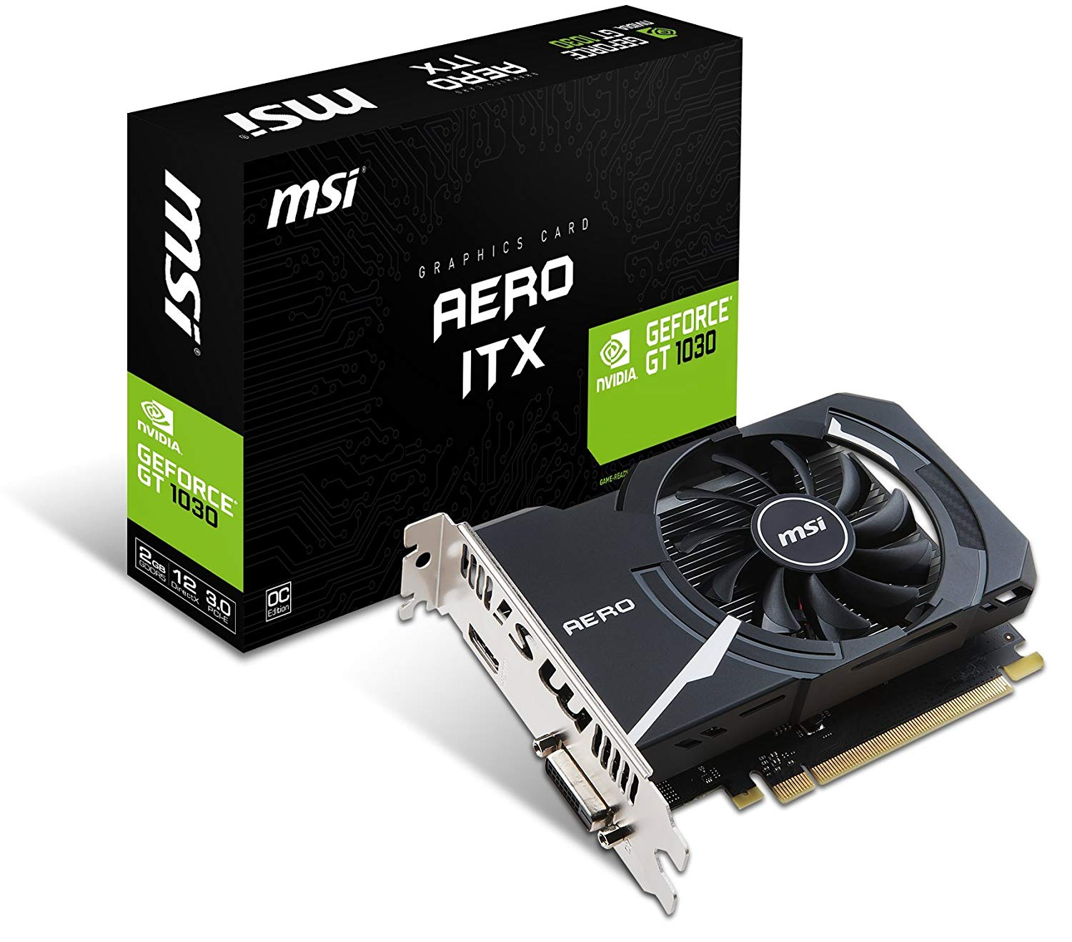 MSI NVIDIA GeForce GT 1030