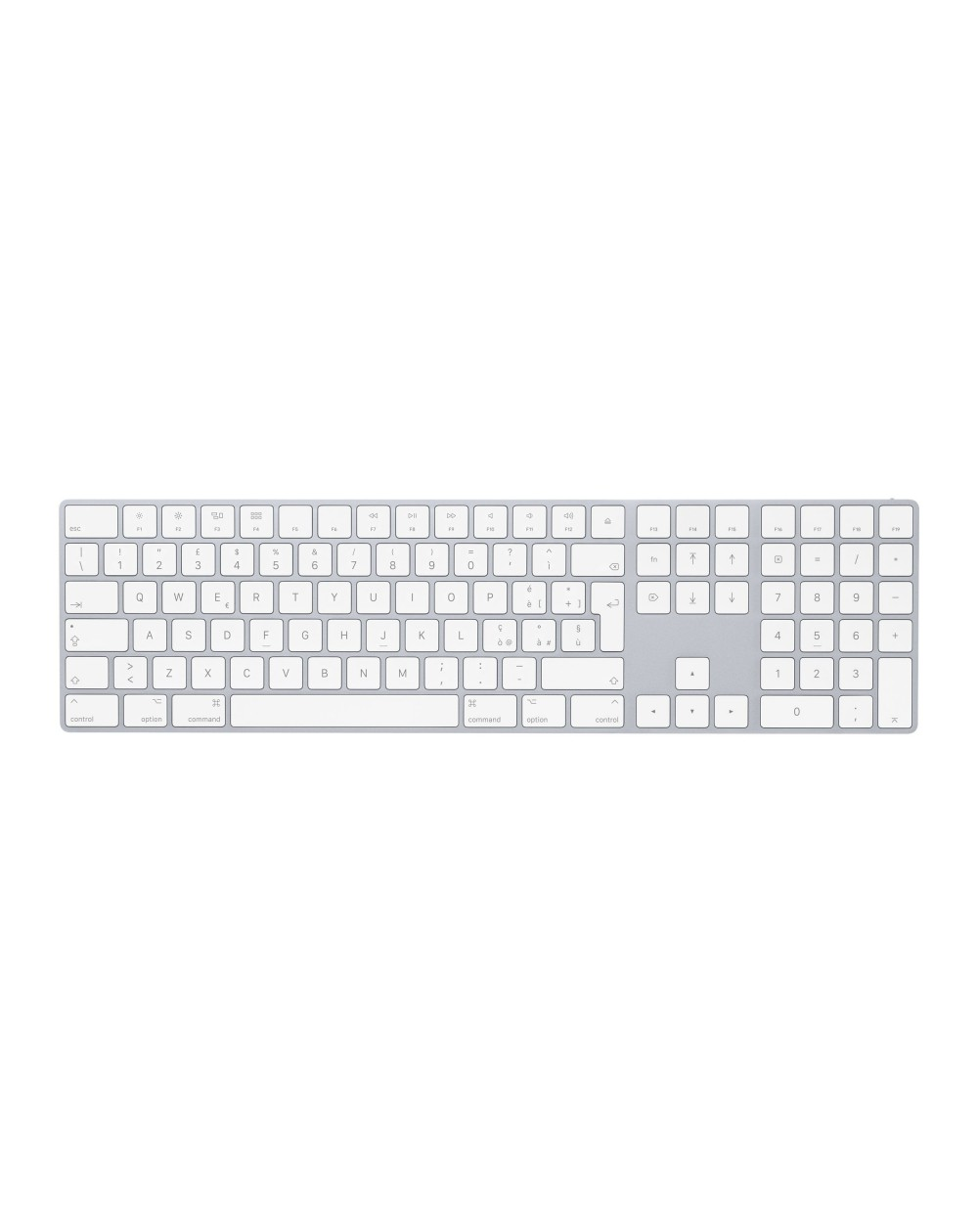 Magic Keyboard with Numeric Keypad - Italian (Silver)