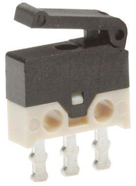 Microinterruttore 500 mA a 30 V c.c. per PCB