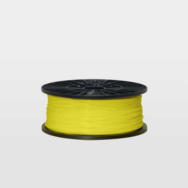 PLA 1.75mm - spool 300g - Lemon