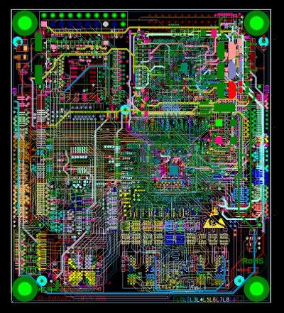 PROGETTAZIONE PCB - GERBER FILE E B.O.M.
