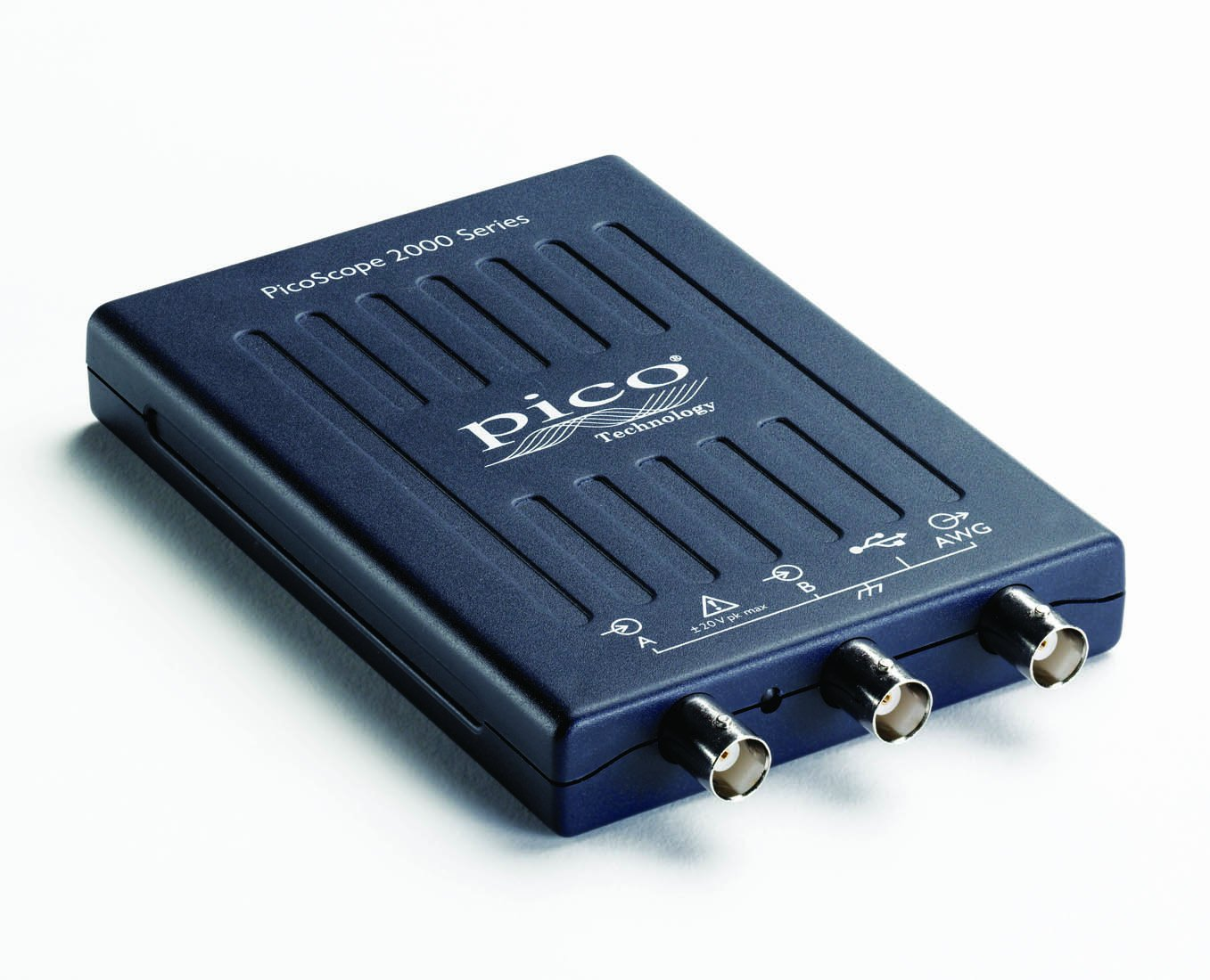 PicoScope 2204A - Oscilloscopio USB a 2 canali, 10 MHz, con sond