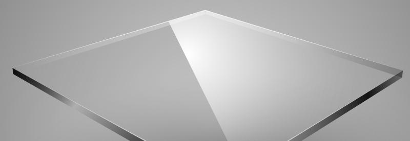 Plexiglass Lucido Trasparente 100*100*2mm