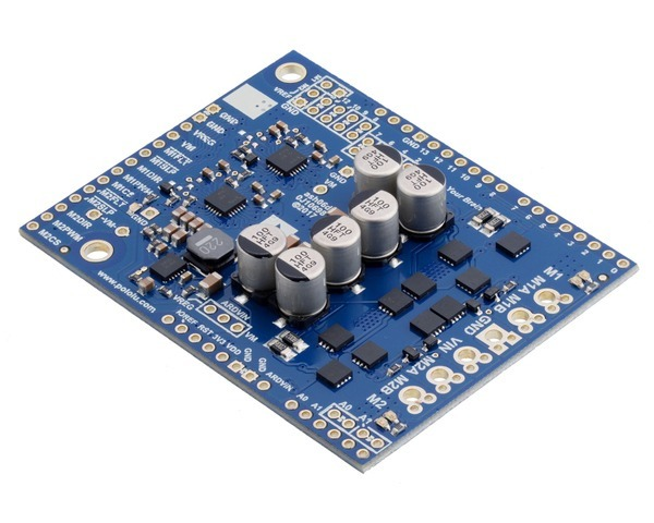 Pololu Dual G2 High-Power Motor Driver 24v14 Shield for Arduino