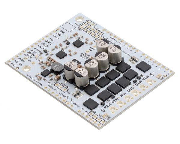 Pololu Dual G2 High-Power Motor Driver 18v22 Shield for Arduino