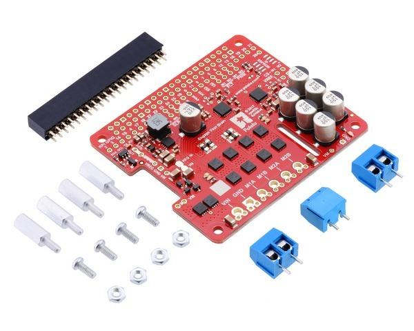 Pololu Dual G2 High-Power Motor Driver 18v18 for Raspberry Pi (P
