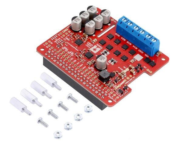 Pololu Dual G2 High-Power Motor Driver 18v18 for Raspberry Pi (A