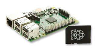 RPI3-MODBP-NOOBS -  Computer a scheda singola, Raspberry Pi 3 Mo