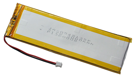 RECHARGABLE LI-PO BATTERY 3.7V 3000MAH WITH JST CONNECTOR