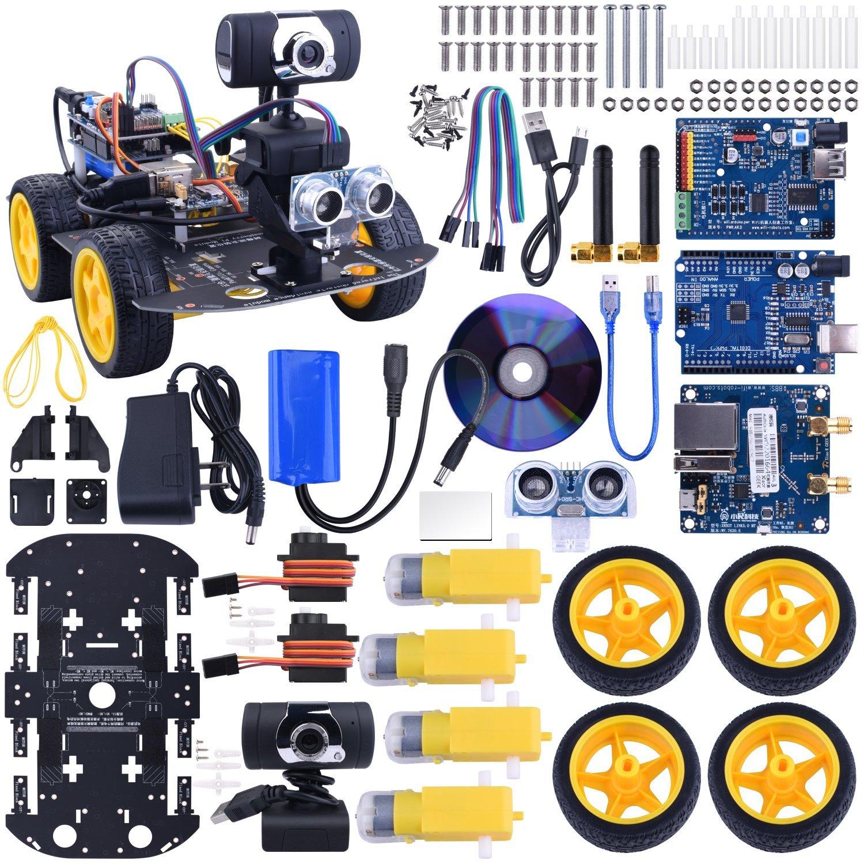 ROBOT ARDUINO WI-FI CON WEBCAM HD