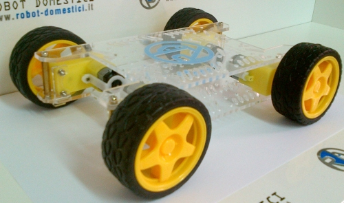 ROBOT-DOMESTICI 4WD  CHASSIS KIT