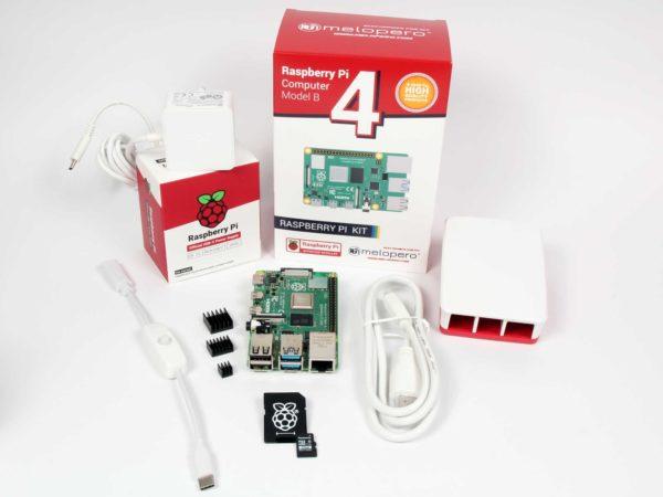 Raspberry Pi4 8GB - OFFICIAL PREMIUM KIT - MicroSD 32GB