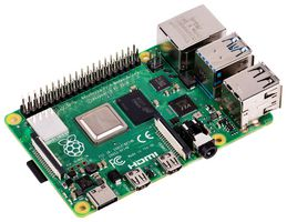Raspberry Pi 4 Model B, SoC BCM2711, RAM DDR4 4GB, USB 3.0