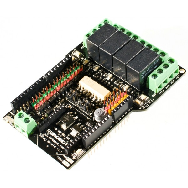 Relay Shield for Arduino V2.1