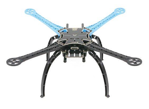 S500 fibra di vetro Quadcopter telaio 480 millimetri - integrato