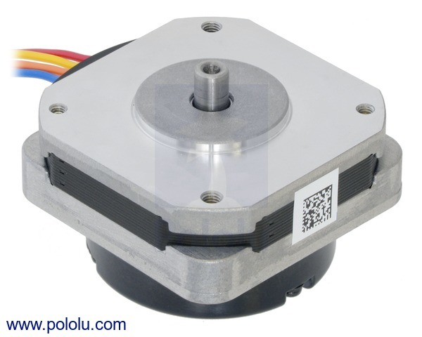 Sanyo Pancake Stepper Motor with Encoder: Bipolar, 200 Steps/Rev