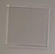 Scintillatore plastico 50 * 50 * 5 mm