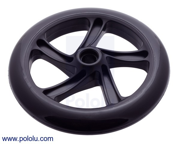 Scooter/Skate Wheel 200×30mm - Black