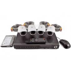 Set di videosorveglianza con DVR + 4 telecamere