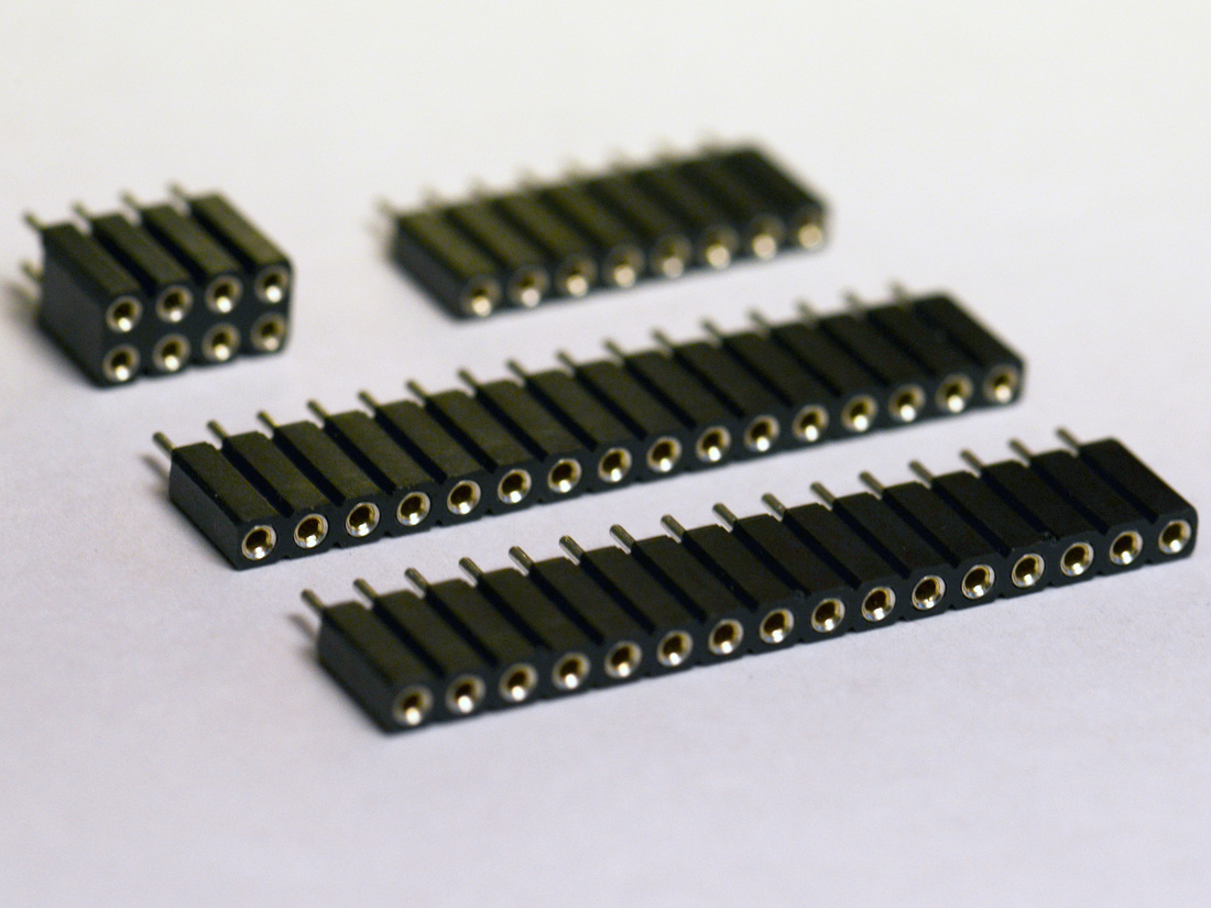 Set of header pins for PYBv1.0
