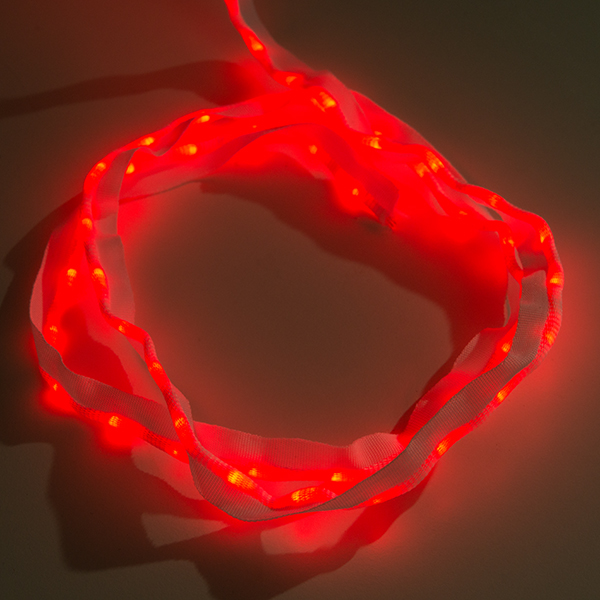 Sewable LED Ribbon - 1m, 50 LEDs (Red)