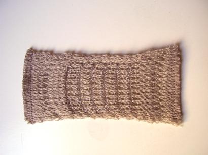 Single Textile button GREY