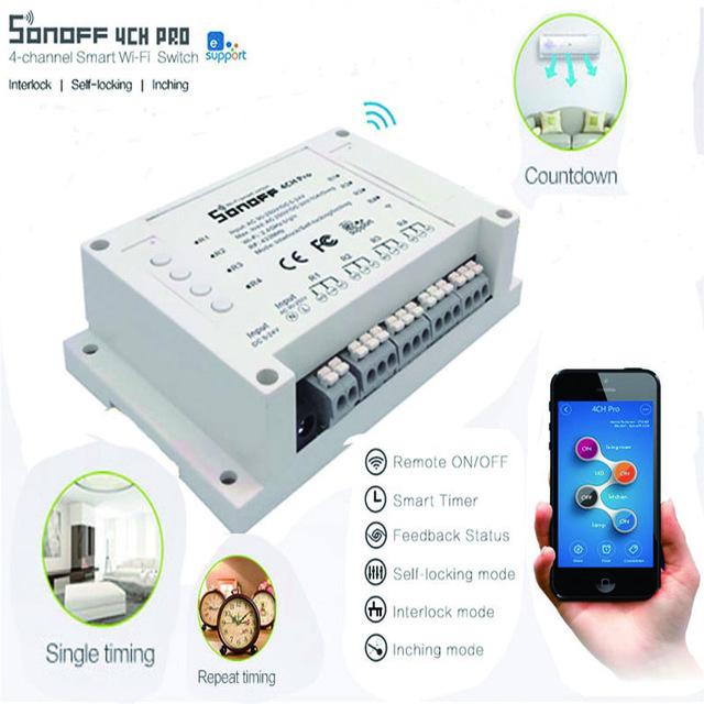 Sonoff 4CH Pro & Sonoff 4CH Pro R2