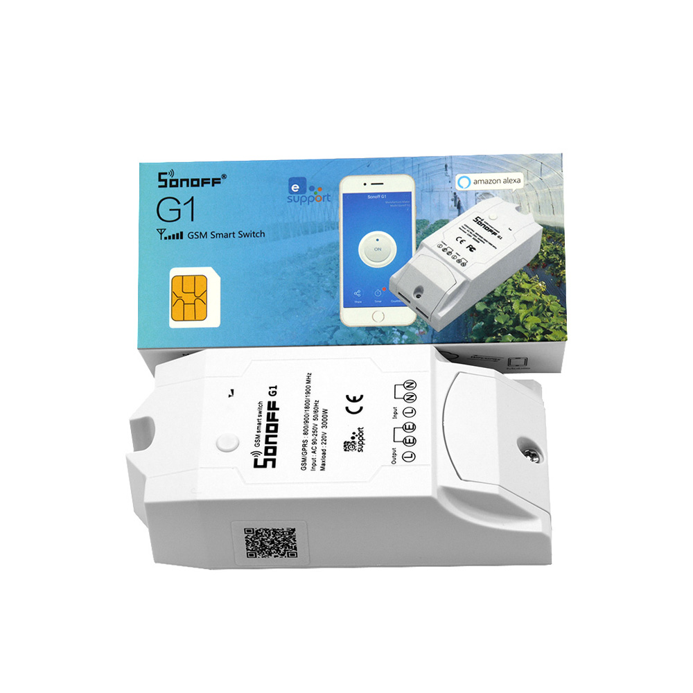 Sonoff G1: GPRS/GSM Remote Power Smart Switch