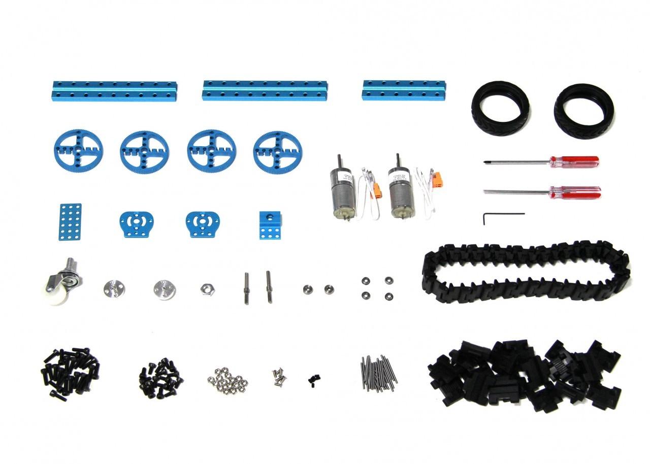 Starter Robot Kit V1.0-Blue (Senza Elettroniche)