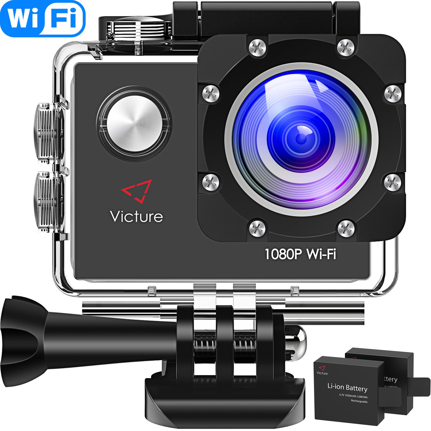 Victure Action Cam WIFI Full HD 1080P