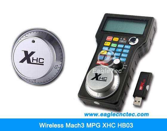 Wireless Mach3 MPG XHC HB04 Manual Pulse Generator