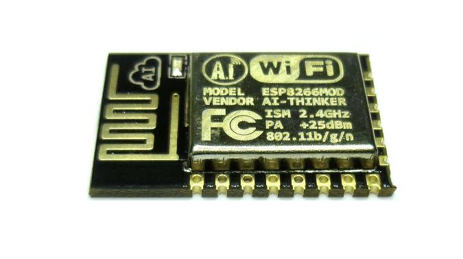 µPanel in ESP12